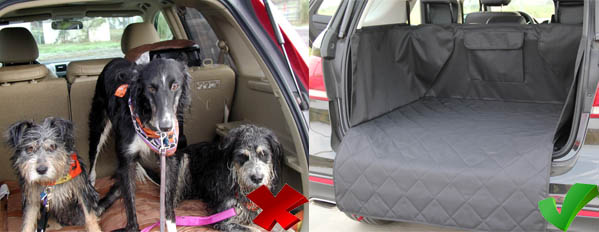 INNX CARGO LINER COVER WET DOG
