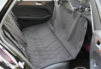 "INNX OP902001 Waterproof Quilted Dog Seat Cover with Non Slip Backing  Covertible Hammock Bench Seat Cover for Sedan Cars, Trucks, SUVs or Minivans Size 58"" Wx54"""