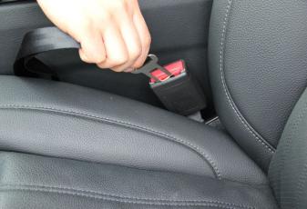 INNX OP904001 Nylon Material Vehicle Ajustable Seat Belt  Safety Harness Seatbelt Tether Car Restraint for Pets, Dog Cat (2pack, black)